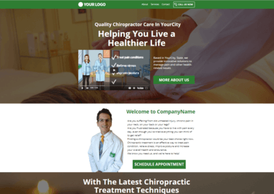 Chiropractor with Video