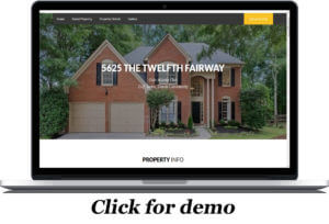 Single Property Listing Website